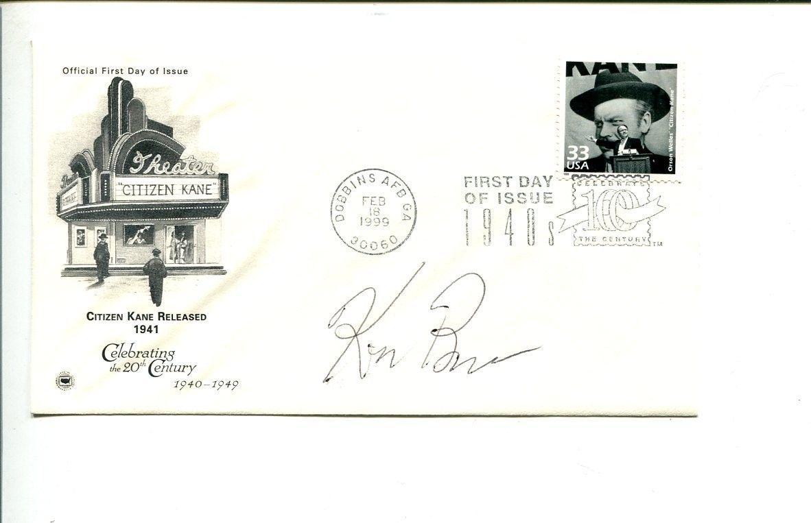 Ken Burns Jazz Baseball Movie Director Oscar Nominee Signed Autograph FDC