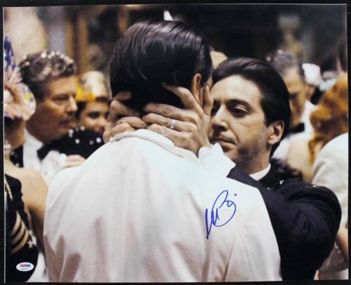 Al Pacino Godfather Signed Fredo Kiss Of Death 16X20 Photo PSA/DNA ITP