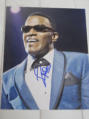 JAMIE FOXX SIGNED AUTOGRAPH 8x10 PHOTO RAY CHARLES RARE