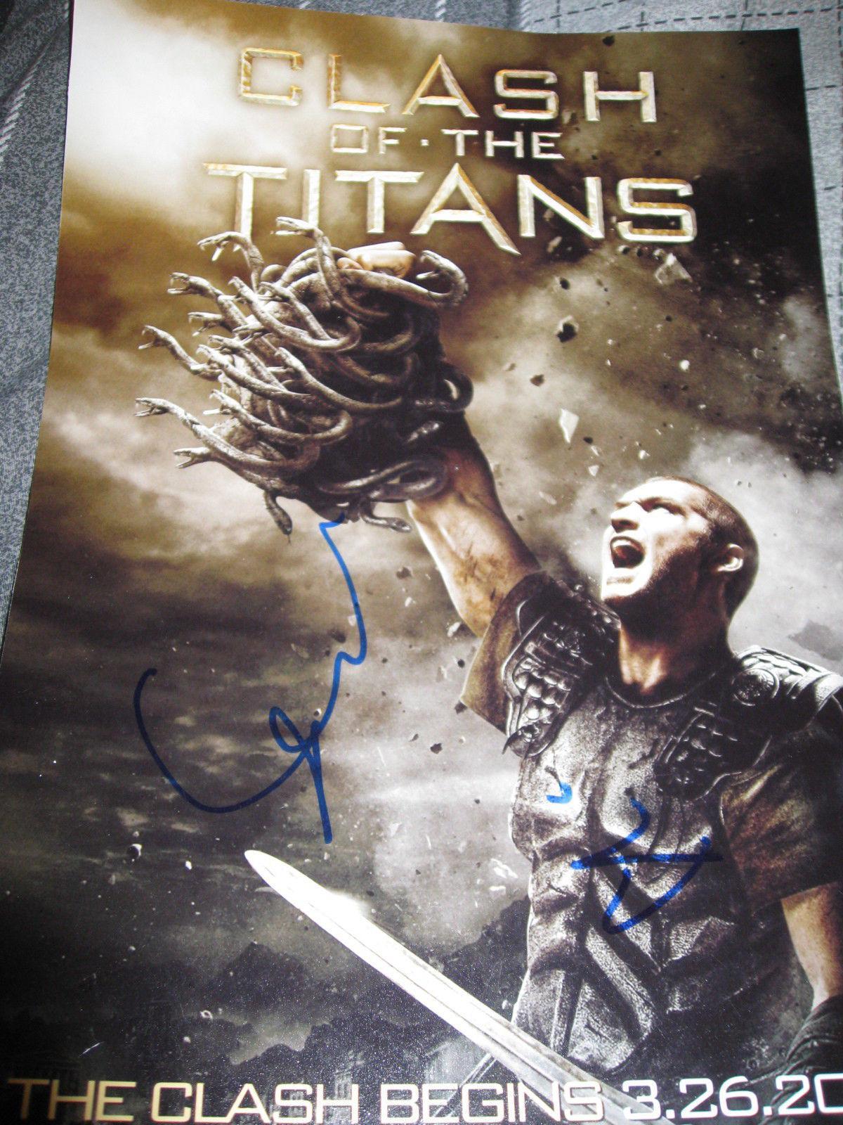 Sam Worthington Signed Autograph 11x14 Wrath Of The Titans In Person Coa Auto