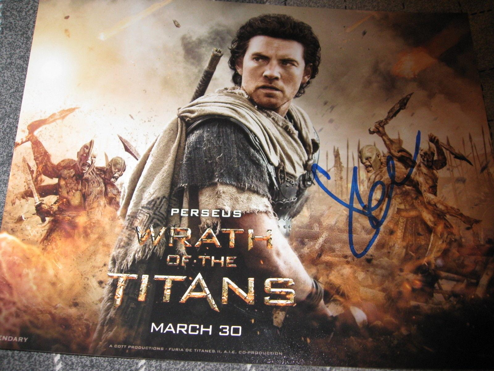 SAM WORTHINGTON SIGNED AUTOGRAPH 8x10 PHOTO WRATH OF THE TITANS AVATAR COA F
