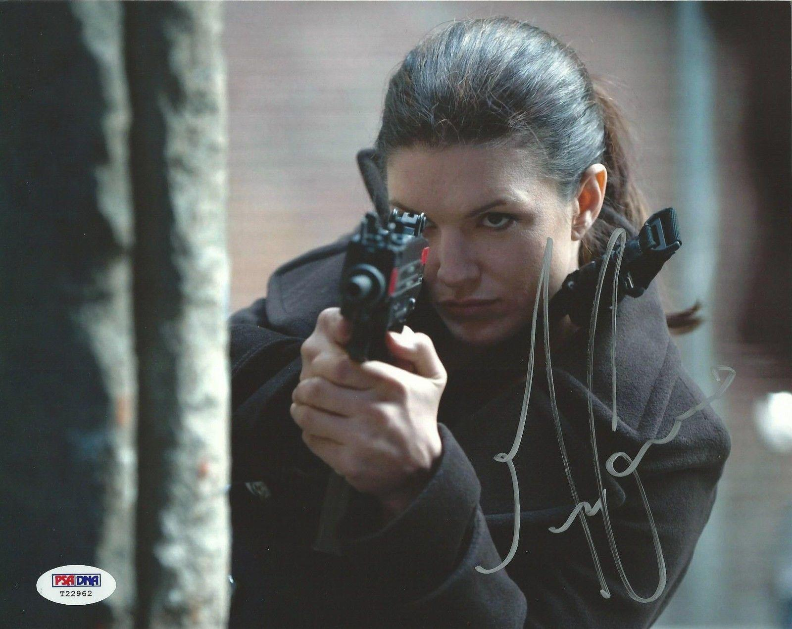 Gina Carano Signed 8x10 Photo PSA/DNA COA Autograph Picture Haywire Strikeforce