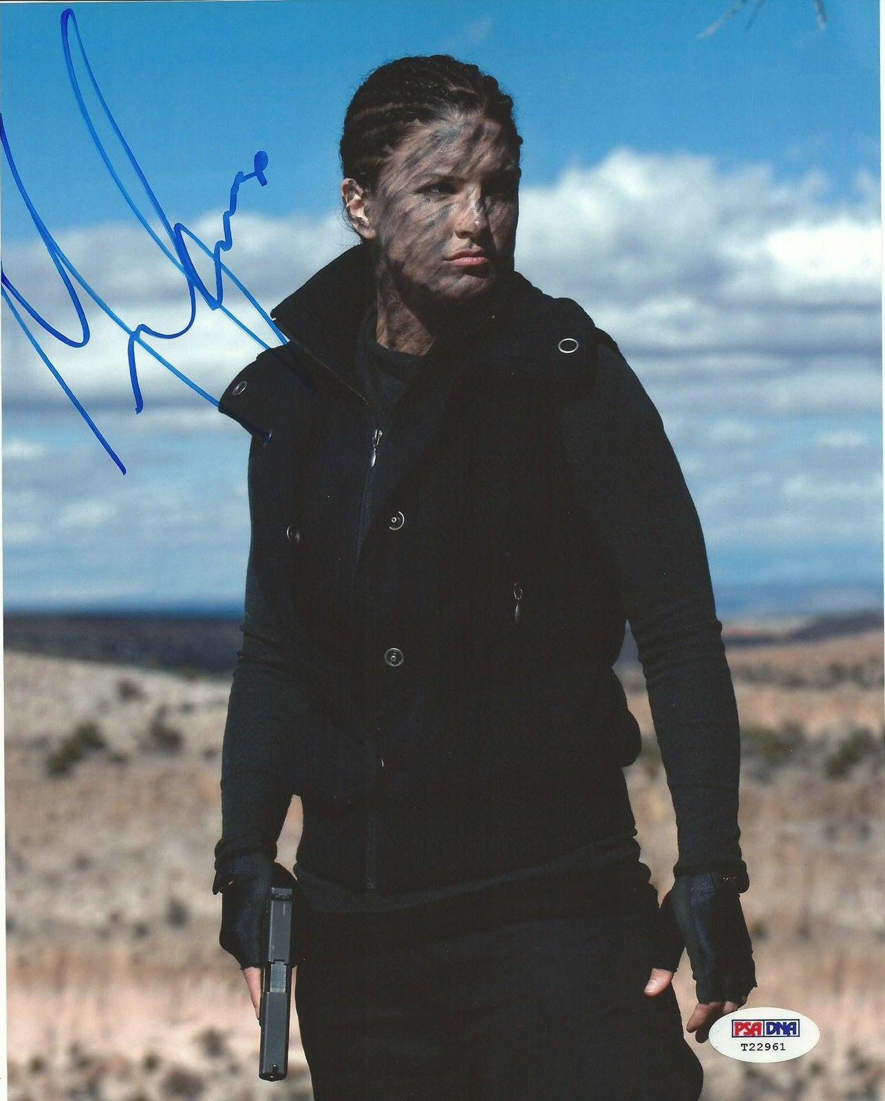 Gina Carano Signed 8x10 Photo PSA/DNA COA Autograph Auto'd Haywire Strikeforce 2