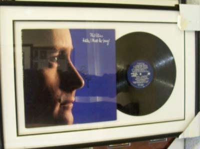 Phil Collins  Autographed Miscellaneous Item