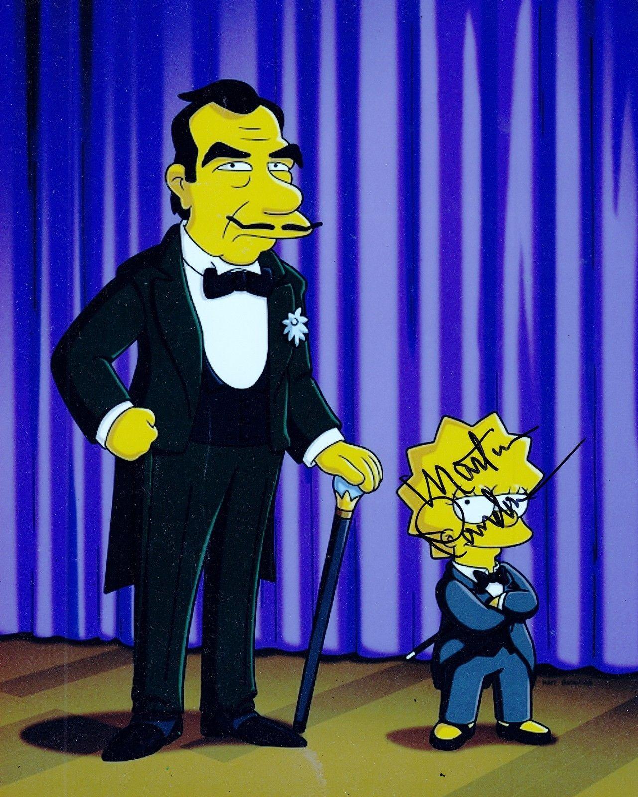Martin Landau Signed 8x10 Photo w/COA Entourage Simpsons Mission Impossible