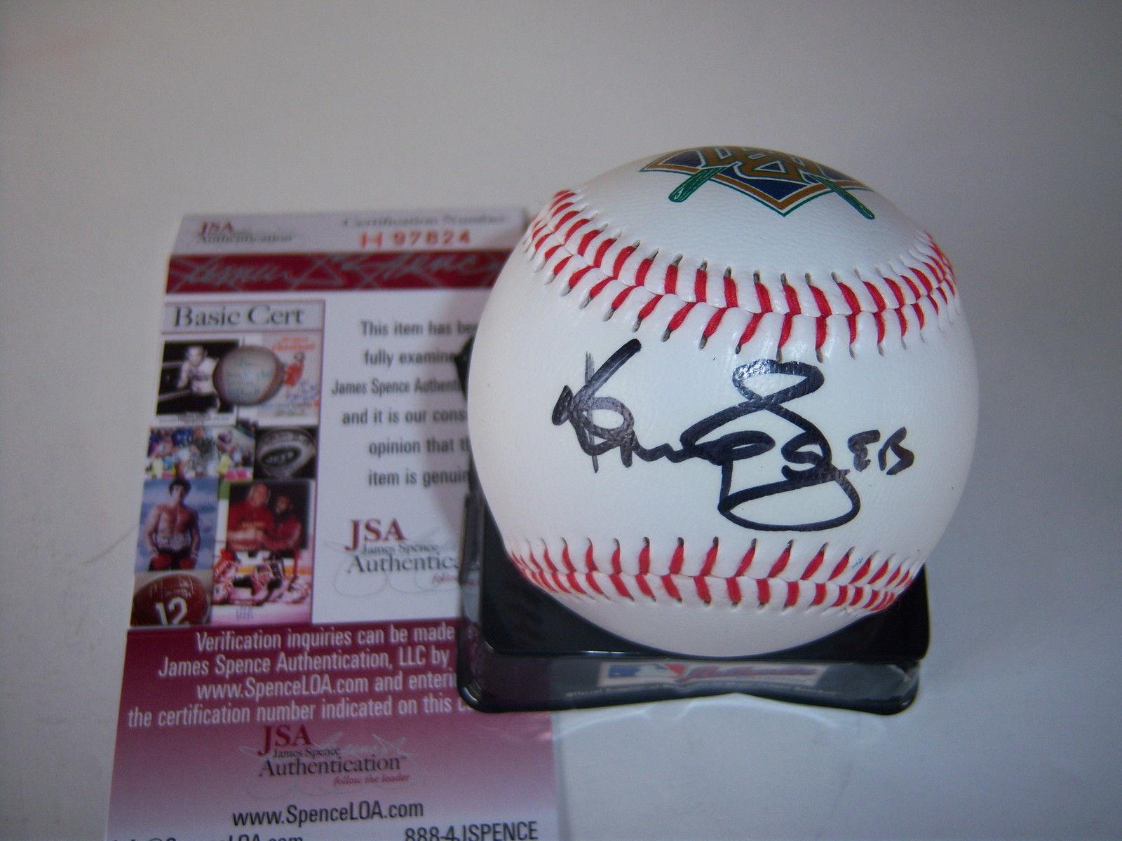 Kenny Rogers Autographed Baseball - Country Music Singer great Jsa coa