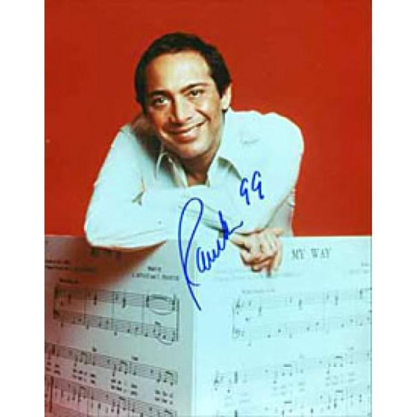 Paul Anka Autographed 8x10 Photo