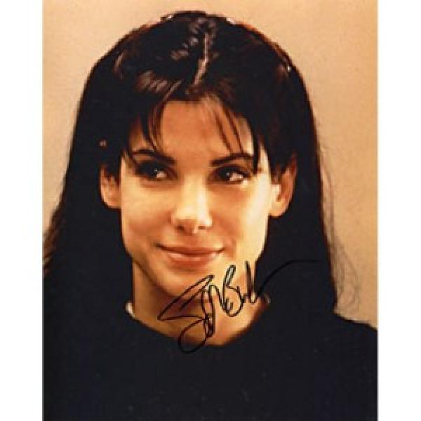 "Sandra Bullock Autographed 2010 Academy Award Winner for Best Actress in ""The Blind Side"" Celebrity 8x10 Photo"
