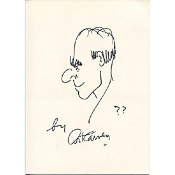 Signed Art Carney Photo - 8x10 Drawing