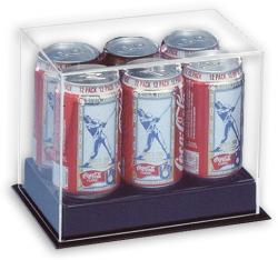 6-Pack Can Case 5 3/4'' x 8 1/2'' x 5 1/2'' - Mounted Memories