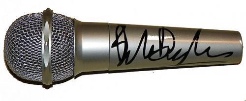 Bob Dylan Facsimile Signature   Microphone