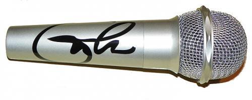 Eric Clapton Facsimile Signature   Microphone