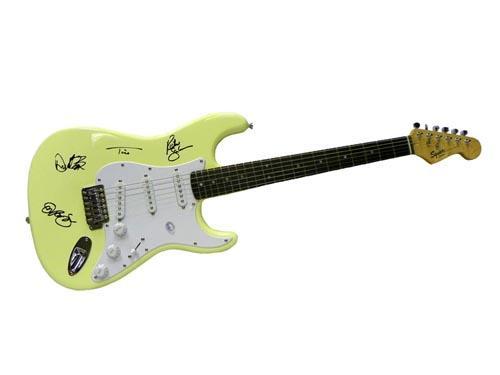 Bon Jovi Facsimile Signature   Fender Guitar Jon Bon Jovi Richie Sambora ++