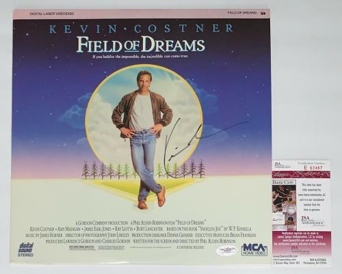 Kevin Costner Signed Field Of Dreams Laserdisc Jsa Coa E62467