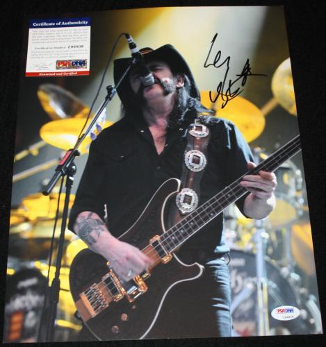 Motorhead Memorabilia: Autographed Albums & Signed Instruments