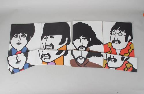 1968 THE BEATLES – YELLOW ONE SUBMARINE STATIONARY SETS (Southeby's Collection)