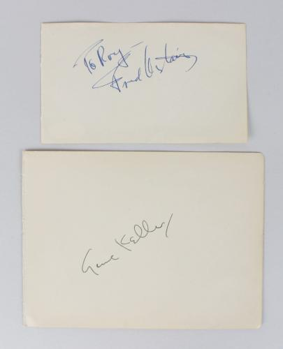 Autographed Fred Astaire Memorabilia Signed Photos Other Items