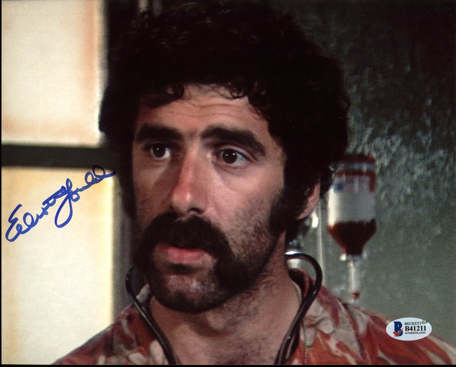 Elliott Gould Authentic Signed Custom Autographed Trading Card Coa With The Best Service Cards & Papers Autographs-original