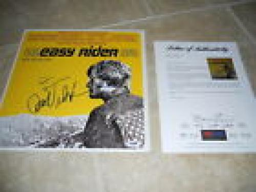 Easy Rider Jack Nicholson & Hopper Signed Autographed LP  Record PSA Certified