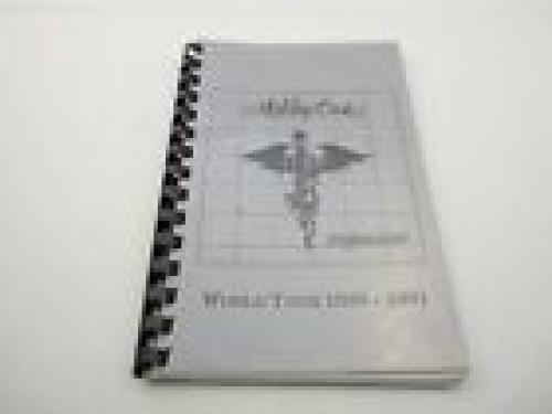 Motley Crue RARE DR Feelgood 1989-1991 World Concert Tour Itinerary Book #4