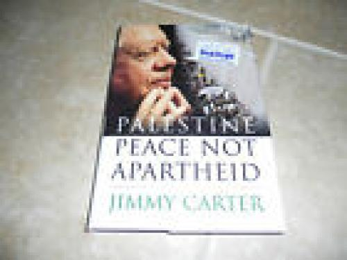 Jimmy Carter 1st ED Signed HB Book Palestine Peace PSA Certified