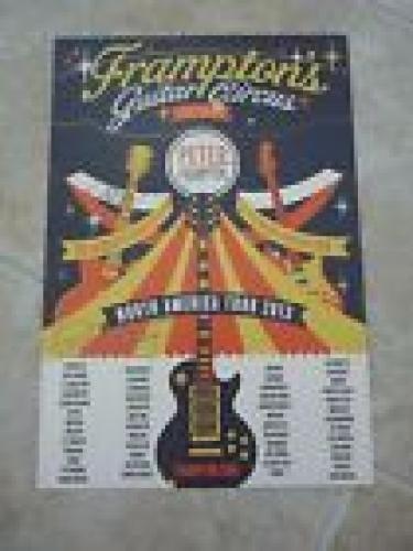 BB King & Peter Frampton Signed Autographed 13x19 Concert Poster PSA Guaranteed