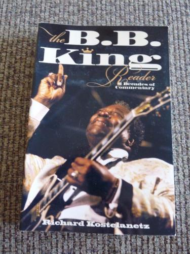 BB King Of The Blues Signed Autographed Reader Soft Cover Book PSA Guaranteed #1
