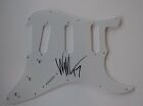 William Duvall Signed Autographed Electric Guitar Pickguard Alice in Chains COA