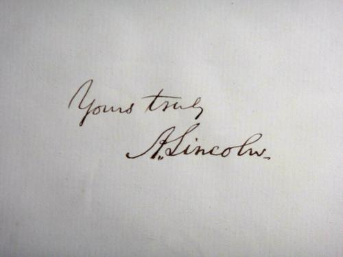 Abraham Lincoln Psa/dna Graded Mint 9 Signed Album Page Autographed Historic!