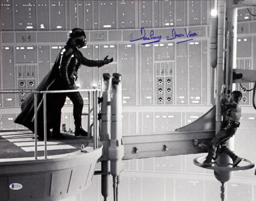 """David Prowse Star Wars """"Darth Vader"""" Signed 16X20 Photo BAS 6"""