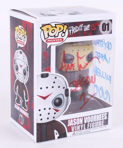 ARI LEHMAN SIGNED CRYSTAL LAKE KILLER JASON 1 FRIDAY THE 13th POP! VINYL FIGURE