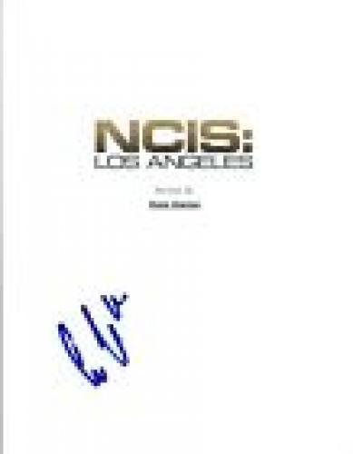 Eric Christian Olson Signed Autographed NCIS: LOS ANGELES Pilot Script COA VD
