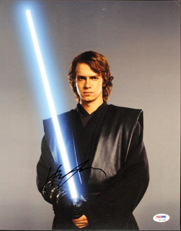 Hayden Christenson Star Wars Signed 11X14 Photo PSA/DNA #K63398