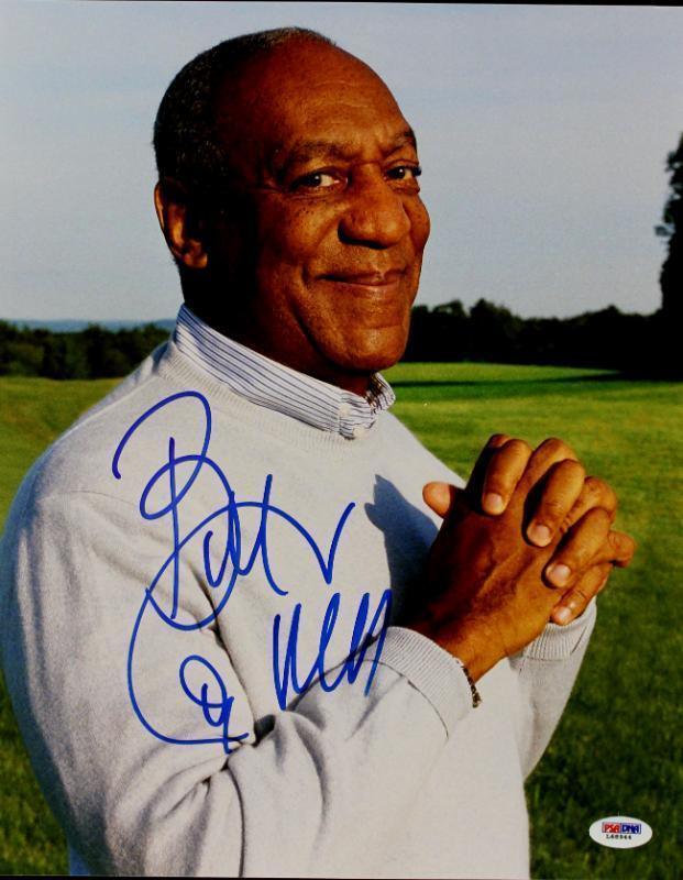 Bill Cosby The Cosby Show Signed 11X14 Photo PSA/DNA #L68944