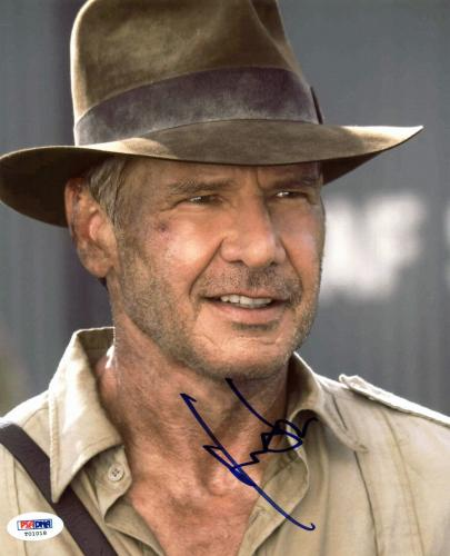Harrison Ford Indiana Jones Signed 8x10 Photo PSA/DNA #T01018