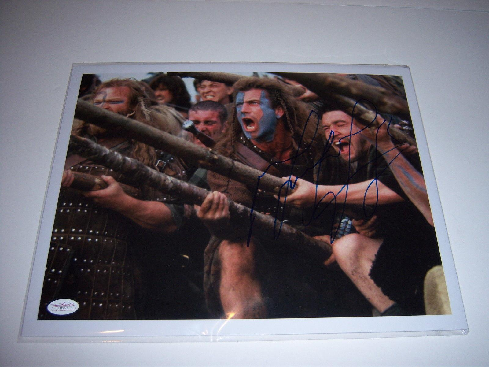 Signed Mel Gibson Photo - Braveheart Rare actor Jsa coa 11x14