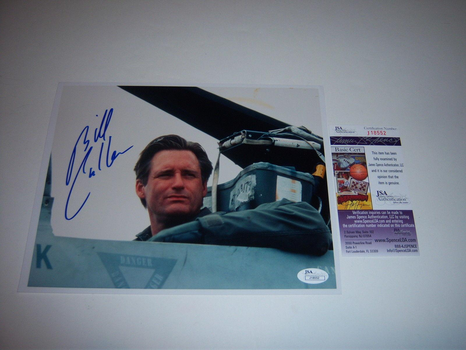 Bill Pullman Independence Day Jsa/coa Signed 8x10 Photo