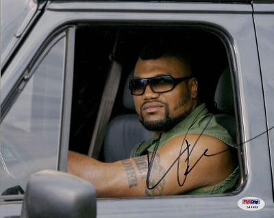 Quinton Rampage Jackson Signed A-Team 8x10 Photo PSA/DNA COA Autograph UFC