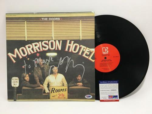Robby Krieger Signed The Doors Vinyl Album PSA/DNA