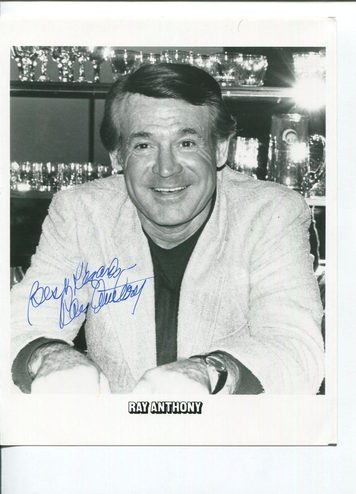 Ray Anthony Jazz Big Band Great Signed Autograph Photo