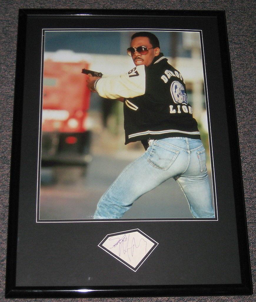 Eddie Murphy Autographed Photo - Framed 20x28 Poster Display JSA Beverly Hills Cop SNL