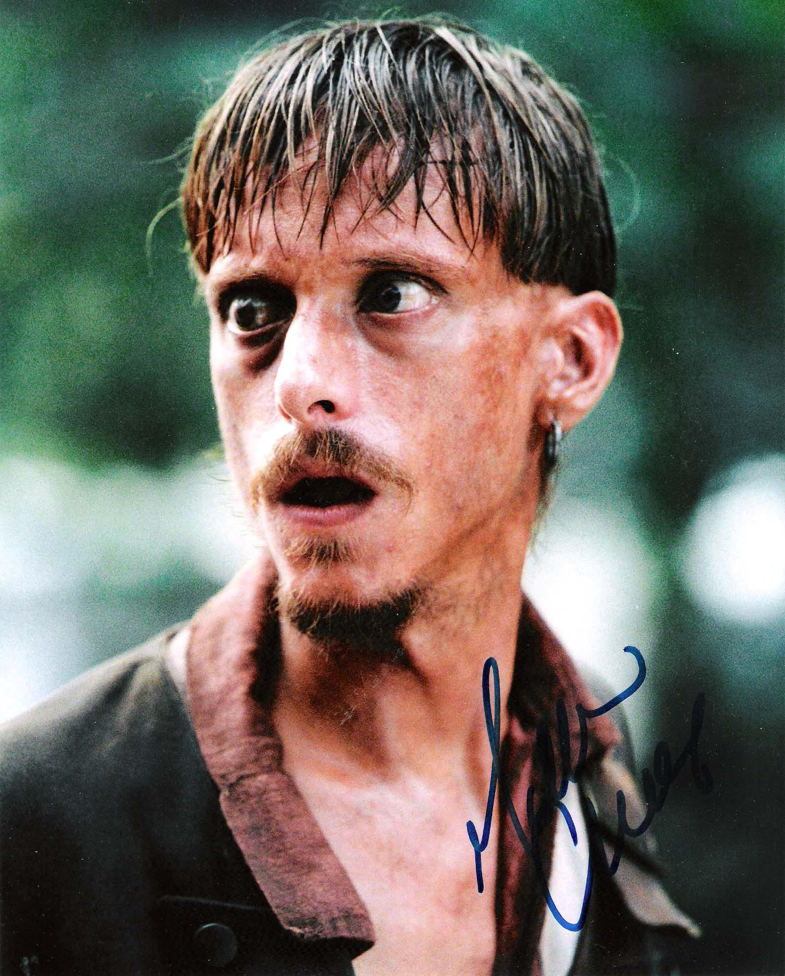 """MACKENZIE CROOK """"PIRATES of the CARIBBEAN"""" as RAGETTI - Signed 8x10 Color Photo"""