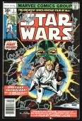 (7) Hamill, Fisher, Baker, Daniels, Mayhew +2 Signed 1977 Star Wars #1 Comic PSA