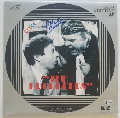 Mel Brooks Signedthe Producers Wb Laser Videodisc Bas Coa Record Autograph Album