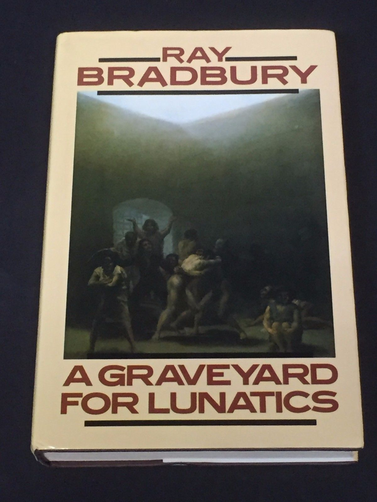 a graveyard for lunatics bradbury ray