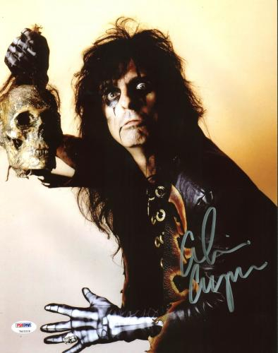 Alice Cooper Signed 11X14 Photo Autographed PSA/DNA ITP 10