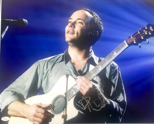 Dave Matthews (Live) Signed 16x20 Photo JSA H38026