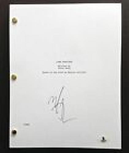 Mark Wahlberg Signed Full 147 Page Lone Survivor Movie Script Beckett Coa Bas
