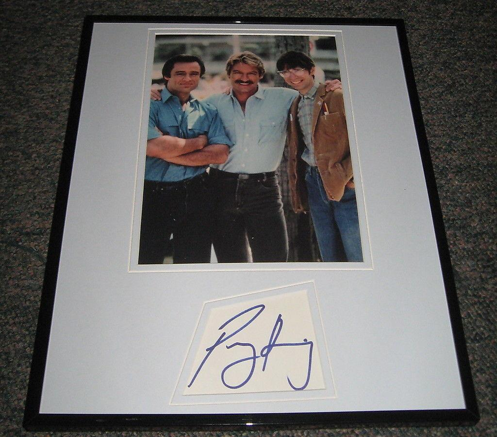 King Autographed Photograph - Perry Riptide Framed 11x14 Display