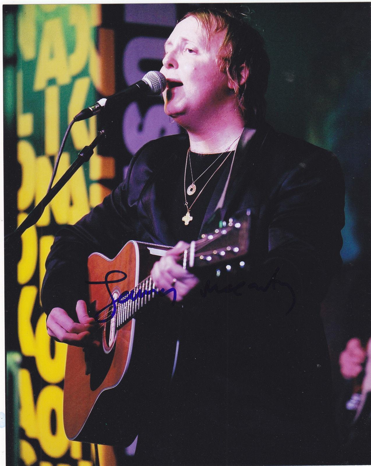James McCartney Signed 8x10 Photo W/COA Proof Paul The Beatles Angel #1